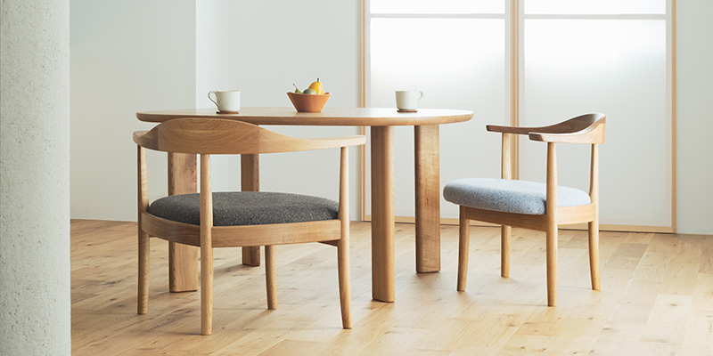 低座の椅子と暮らしの道具店