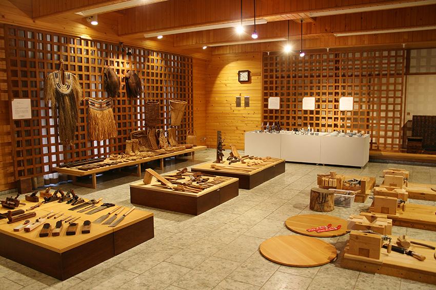 どま工房「手で見る 手で知る 日本の道具」会場