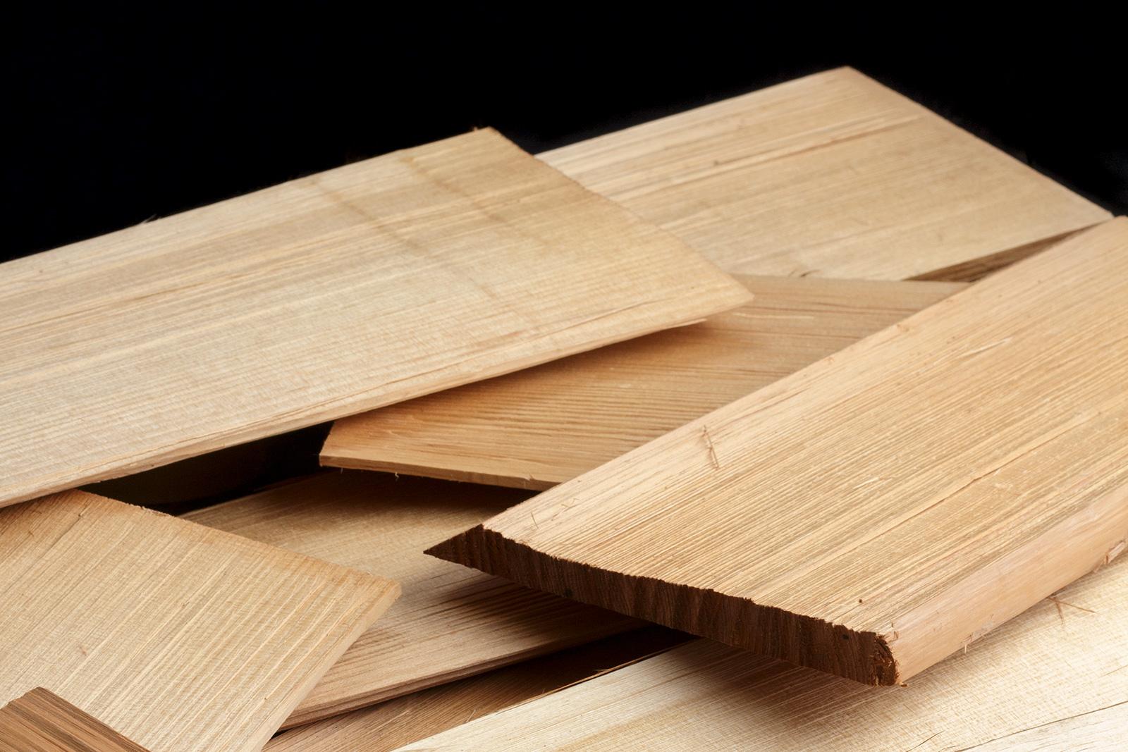 へぎ板の素材