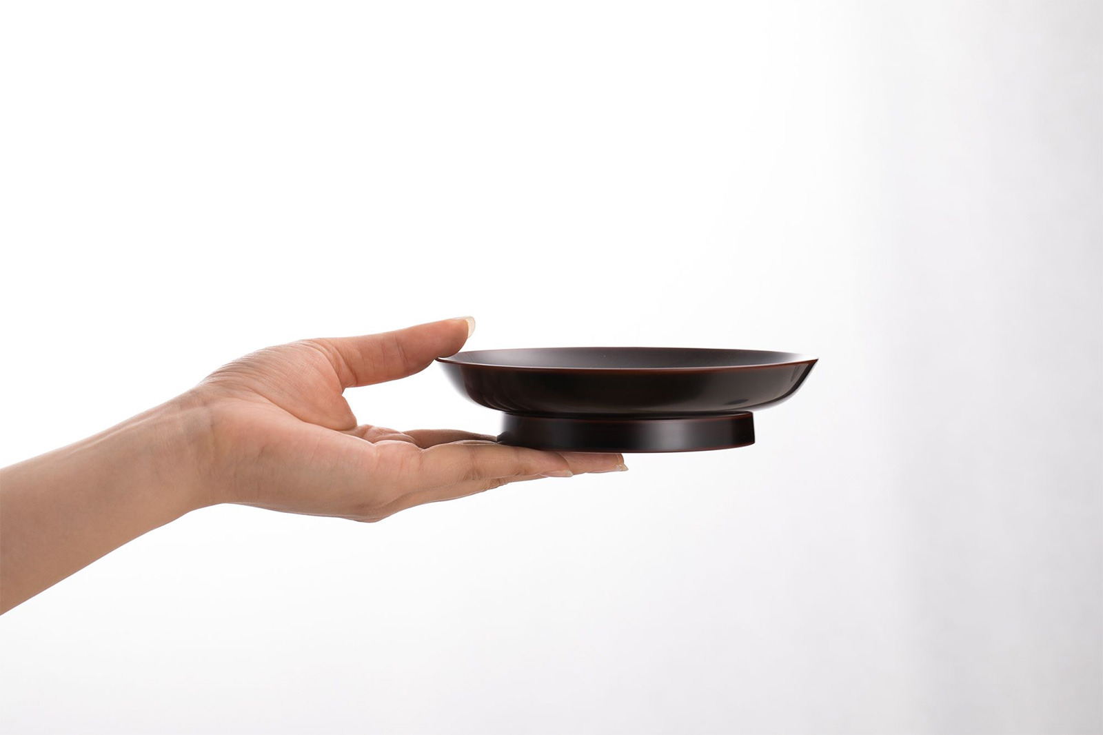 椿皿の高台
